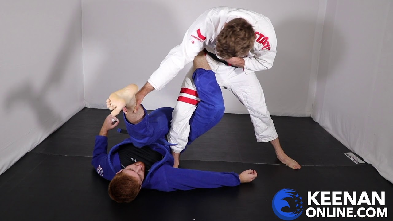 Learn to Pass the 50/50 Guard in Under 4 Minutes with Keenan Cornelius