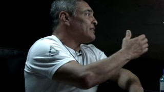 Rickson Gracie chokes up talking about his late father Helio Gracie