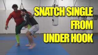 Snatch Single Leg from the Under Hook