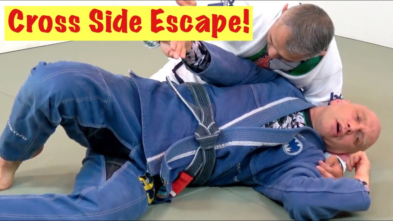 Spinning Side Control Escape