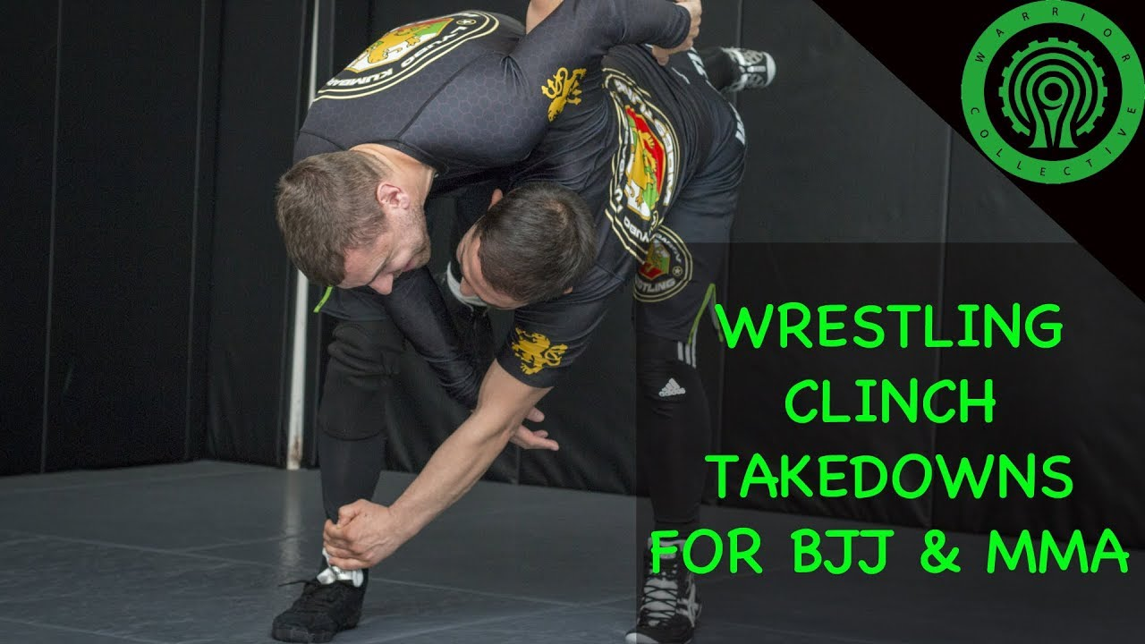 Wrestling Takedowns from the Clinch for BJJ