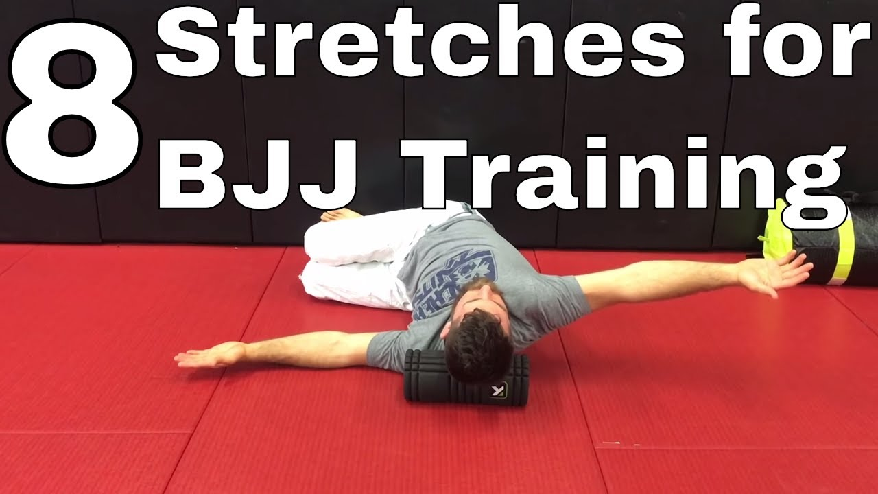 8 Useful Stretches to Loosen Up Tight Muscles after BJJ Training