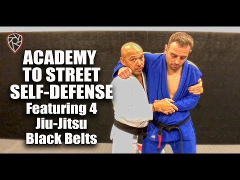 Academy to Street Jiu-Jitsu Featuring 4 Black Belts