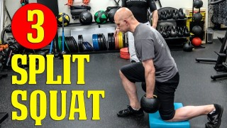 Best BJJ Strength Training Exercises: The Modified Split Squat