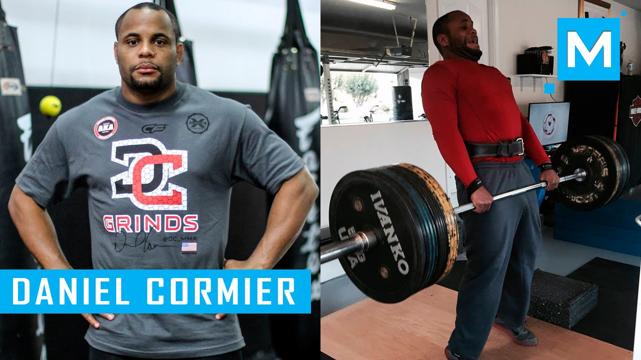 Daniel Cormier Conditioning & Strength Training Workouts