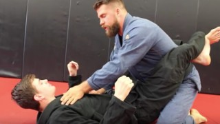 Can't Break Full Guard in BJJ? Try this Painful Choke to Open Guard