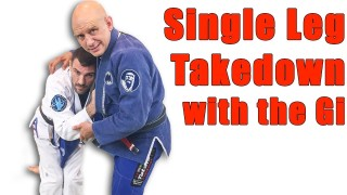 How to Do the Single Leg Takedown with the Gi in BJJ