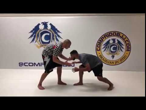 How to properly execute a double leg takedown with a Big 10 Champion