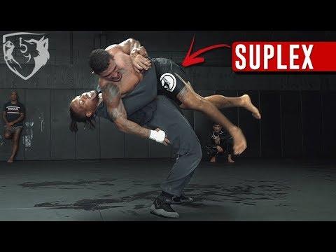 How to Suplex: Instruction & Heavybag Drills
