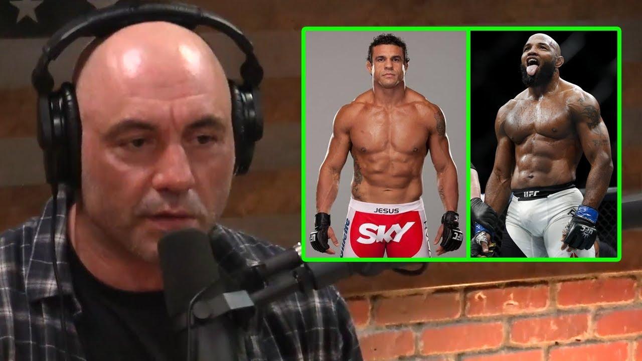 Joe Rogan Compares TRT Vitor Belfort to Yoel Romero