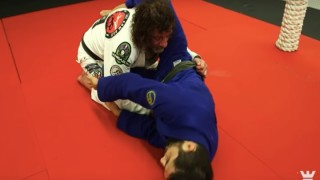 Counter The Over Under Pass w/ a Rolling Arm Bar- Kurt Osiander & Jake Scovel