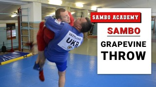 Sambo Grapevine throw