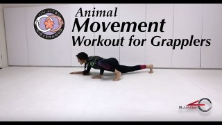 Solo Movement Workout for grapplers