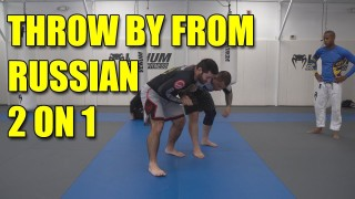 Throw by from the Russian 2 on 1