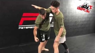 Underhook + Knee Pick = EASY Takedown