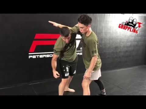 Underhook + Knee Pick = EASY Takedown