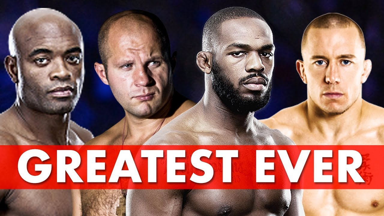 10 Greatest Fighters in MMA History