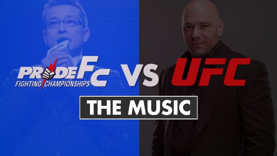 Comparing Pride & UFC: The Music