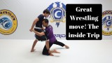 Dave Pena All American Wrestler Shows an Inside Trip Takedown