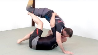 How to Do the Half Butterfly Guard Hook Sweep with Rob Biernacki and Stephan Kesting