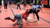 Islam Makhachev Pulls Off Russian Wrist Snap at AKA