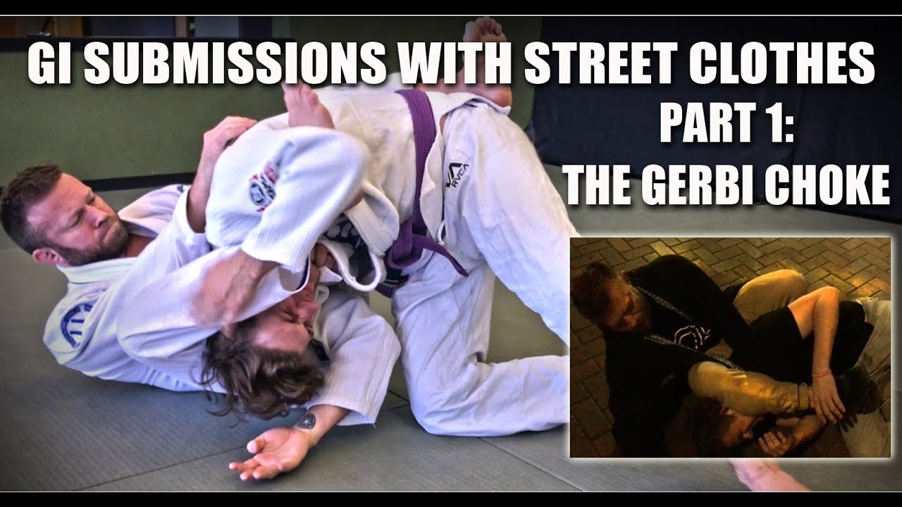 Jiu-Jitsu Gi Submissions with Street Clothes