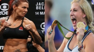 Olympian Kayla Harrison Challenges Cris Cyborg, I Ain't Afraid Of You