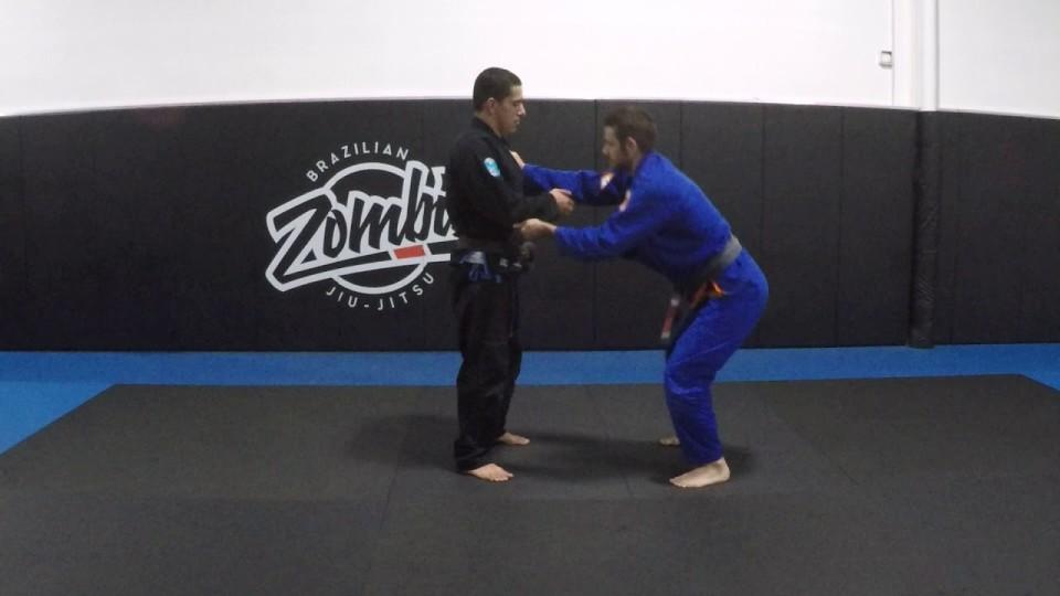Takedowns vs butt back/feet back stance