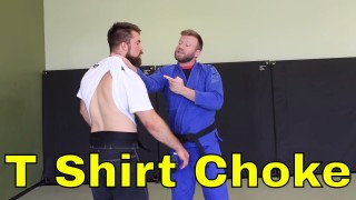 The BJJ Gi is Too Unrealistic , But What About a T Shirt ?