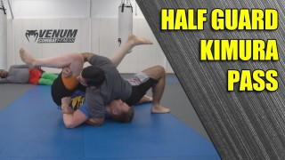 The Kimura Pass from Half Guard