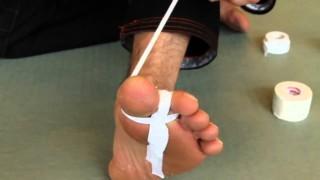 Jiu-Jitsu Taping Tutorial: Toes and Knees