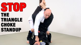 5 Counters to Your Opponent Standing in Your Triangle Choke