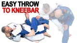 An Easy Throw to Kneebar Combination