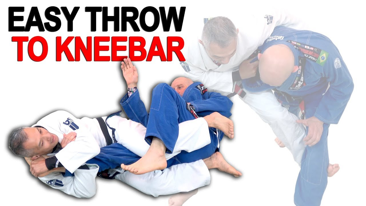 An Easy Throw to Kneebar Combination
