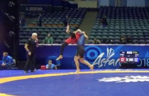 Slam KO in Grappling UWW Championships