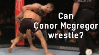 Can McGregor Wrestle?