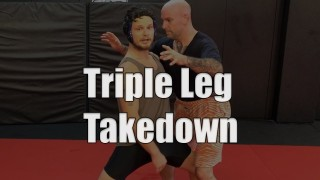 Do You Know The Triple Leg Takedown?