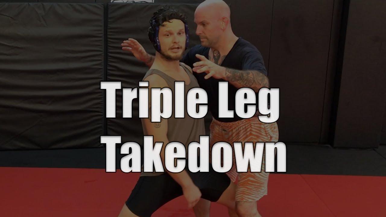 Do You Know The Triple Leg Takedown?