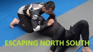 Escaping north south and choosing the correct escape based on arm position (Lachlan Giles)