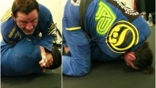 Changing Sides on A Choke To Add Extra Leverage- Kurt Osiander