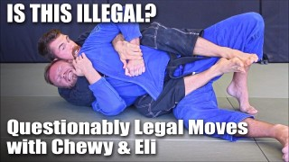 """Questionably Legal"" Jiu-Jitsu Moves with Chewjitsu & Knight Jiu-Jitsu"