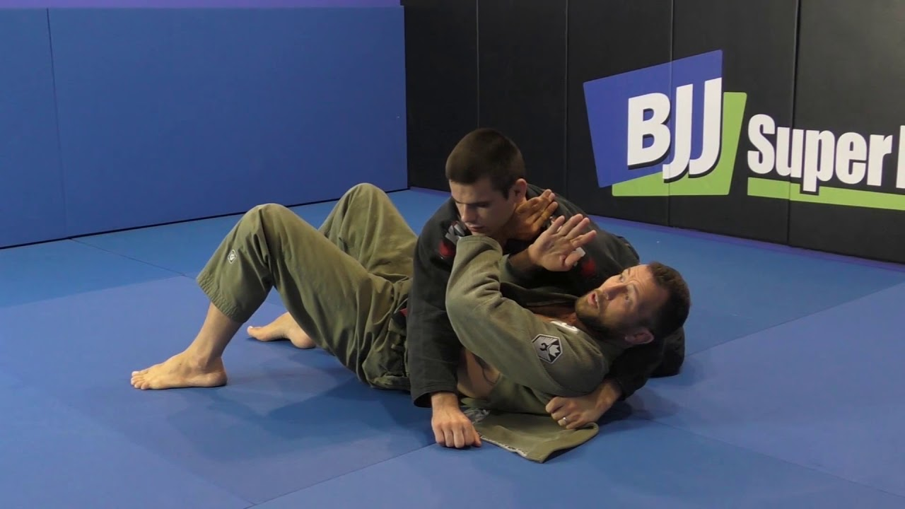 Side Control Escape With 'The Steamroller' from Eduardo Telles