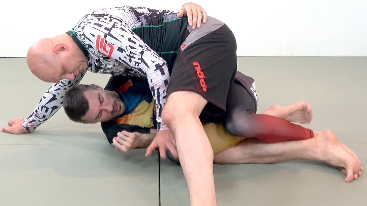 The 6 Layers of Half Guard from longest to shortest range