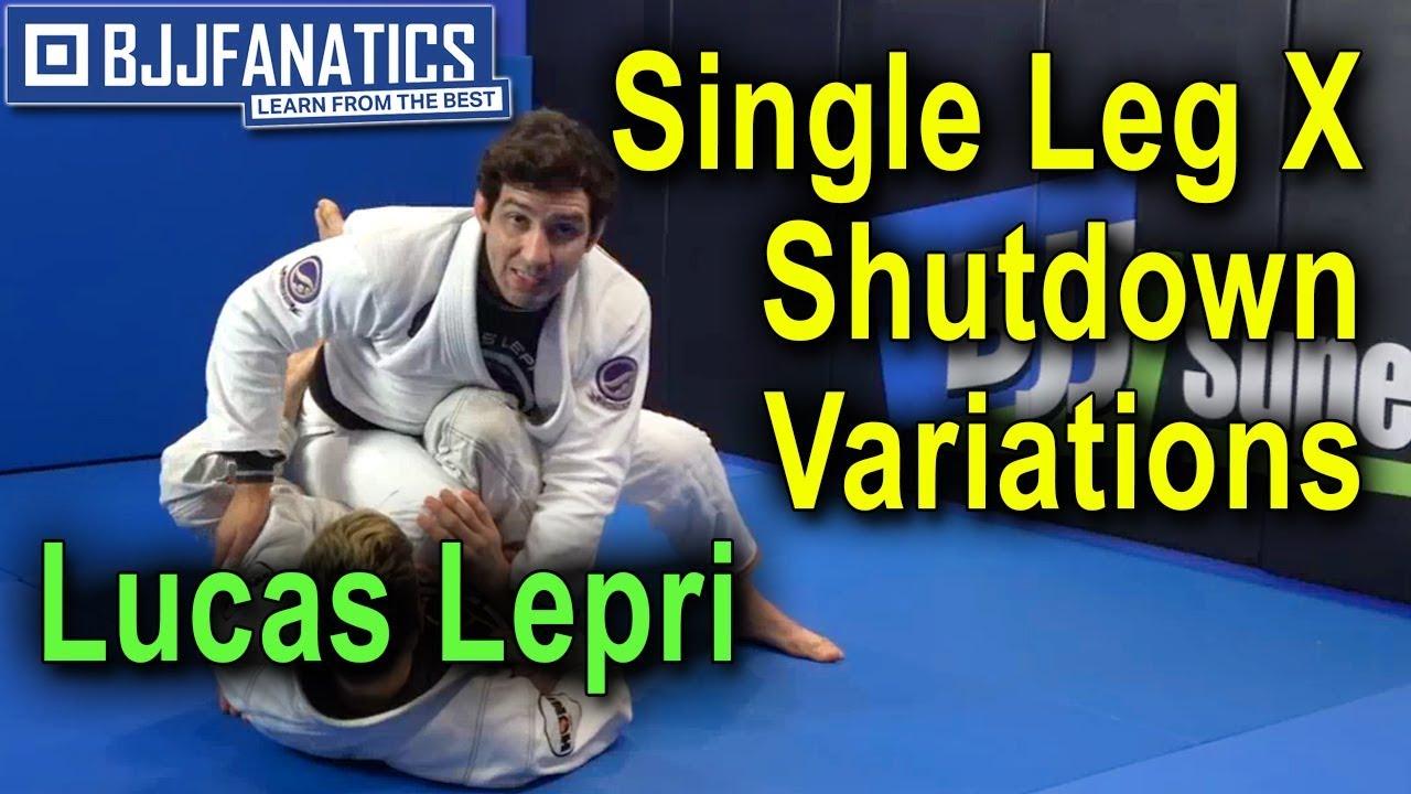 Lucas Lepri's Recipe For Completely Shutting Down The Single Leg X Guard