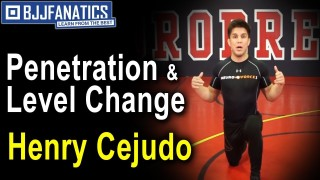 Penetration & Level Change For Powerful Takedowns by Henry Cejudo