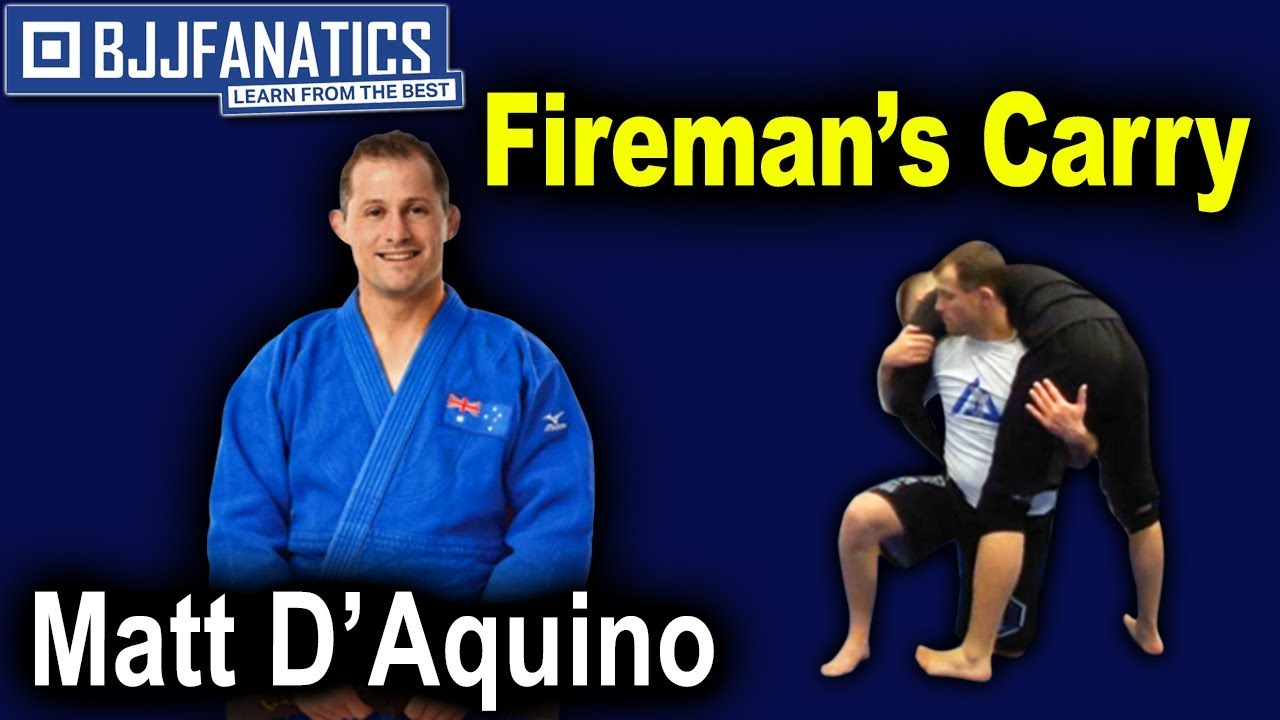 Wrong Leg Firemans by Judo Olympian Matt D'Aquino