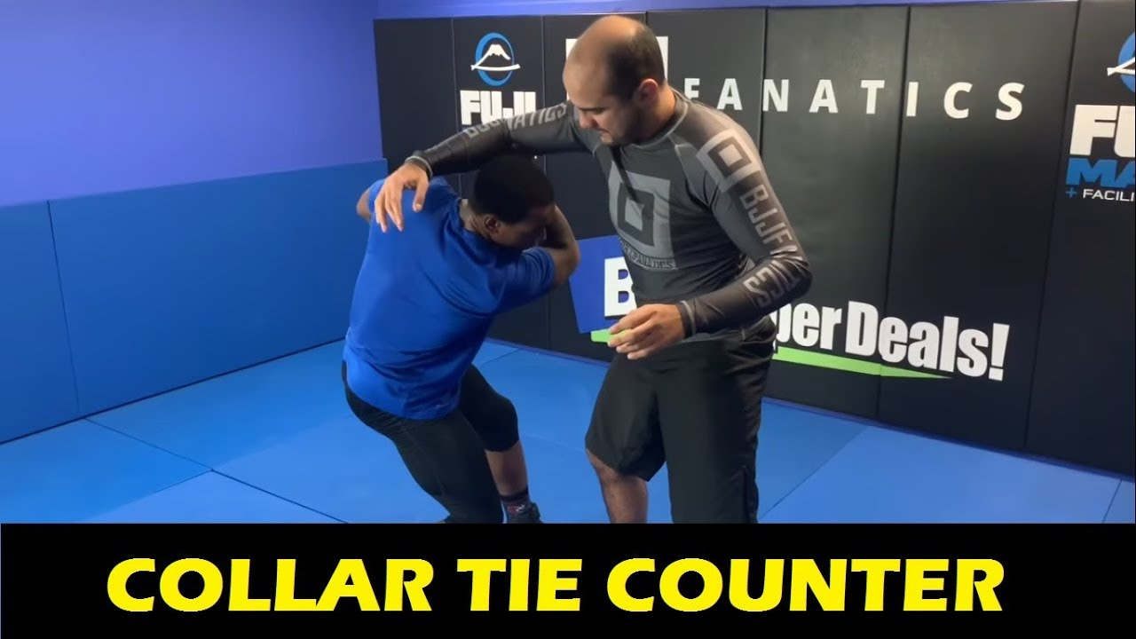 Collar Tie Counter by 2018 Wrestling World Champion J'Den Cox