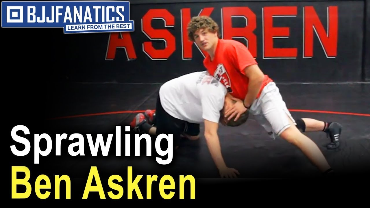 Correct Sprawls For Different Takedowns by Ben Askren