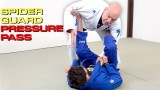 Fabio Gurgel, How to Pass Lasso Spider Guard with Pressure Passing