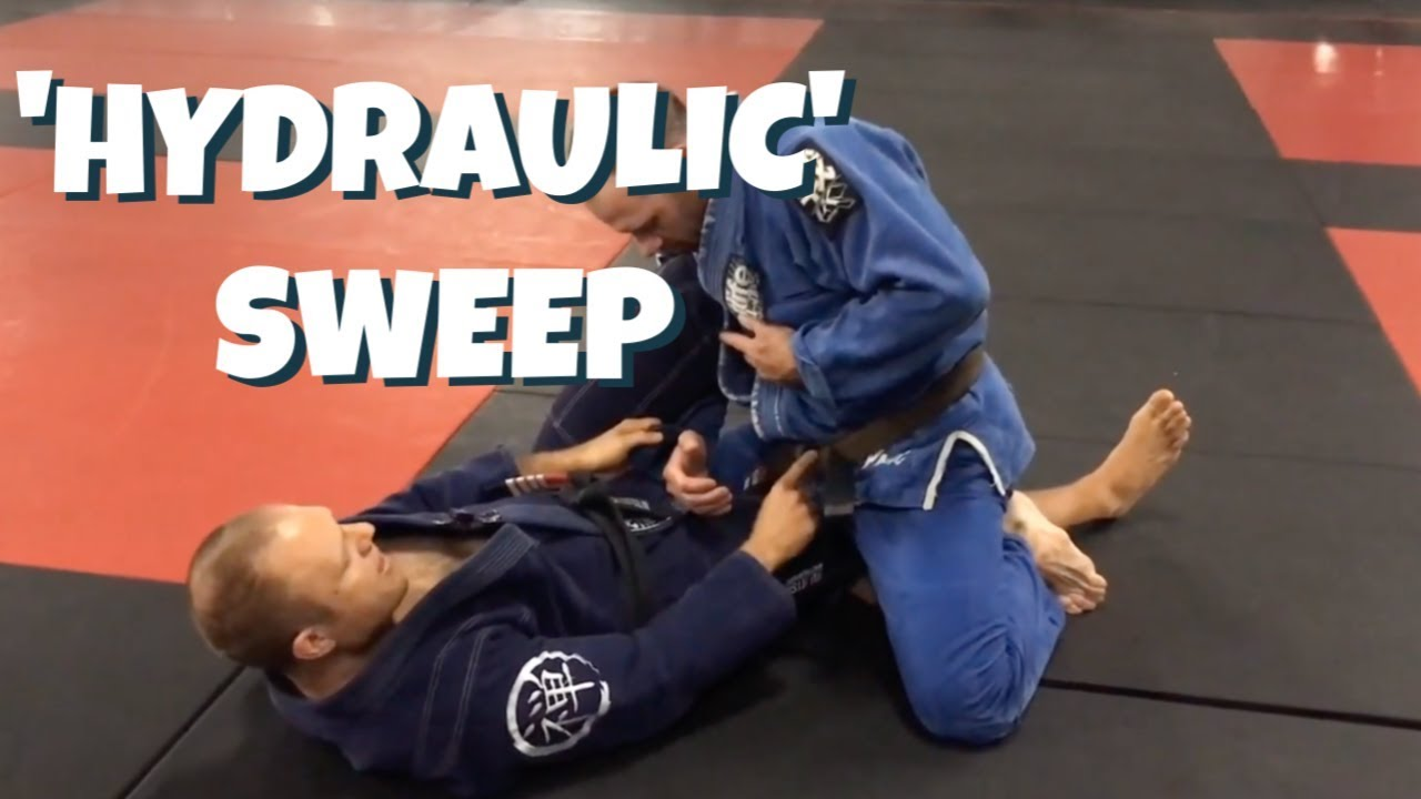 Half-Guard Knee-Shield 'Hydraulic' Sweep